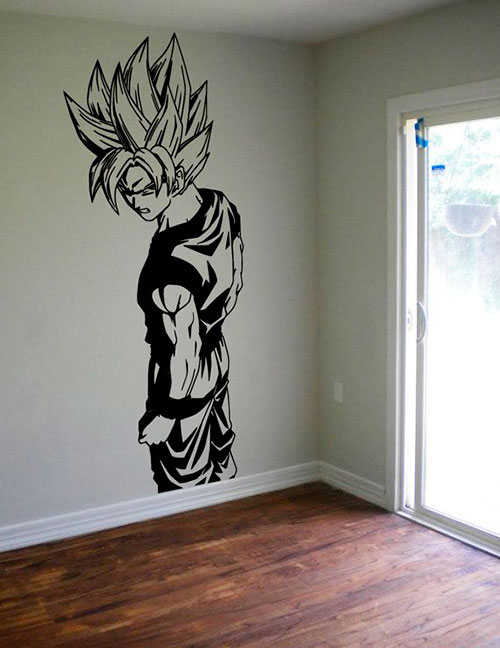 Vinilos decorativos frikis redecora tu vida frikisimo for Dragon ball z bathroom